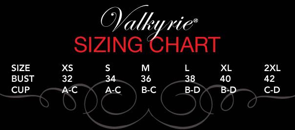 Ruffle Bra Size Guide
