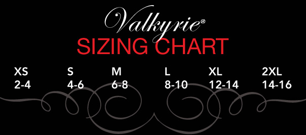 Valkyrie Size Guide 1