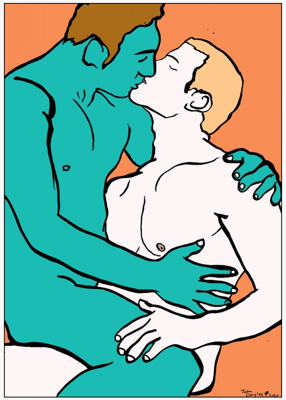 Homoerotic Art copyright: John Douglas