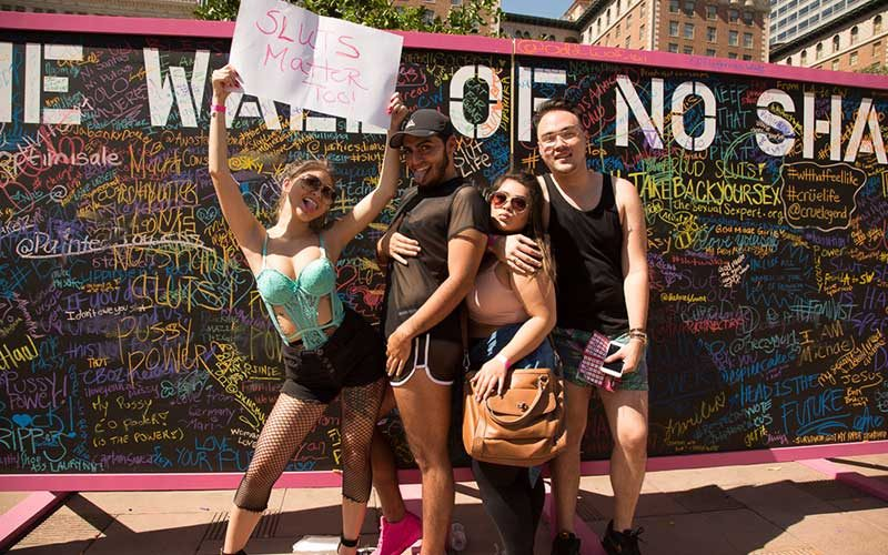 SlutWalk 2016 ©Lightworship