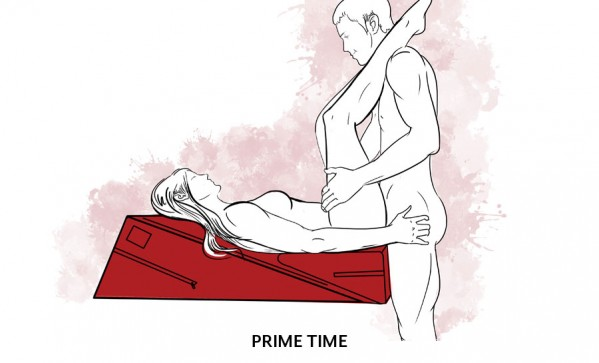 Modified sex positions for a sore back