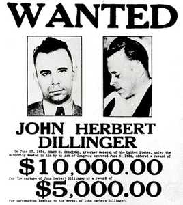 wanted-john-dillinger